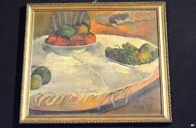 Gauguin Fruits on a table