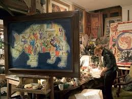 Gigi Bon in her studio