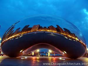 Anish Kapoor Cloud Gate, 2006 Image courtesy of ChicagoArchitecture.com