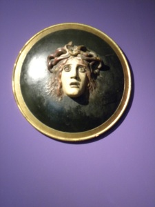 Shield with the Head of Medusa, Arnold Brocklin, 1887
