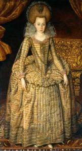 NPG 6113; Elizabeth, Queen of Bohemia by Robert Peake the Elder